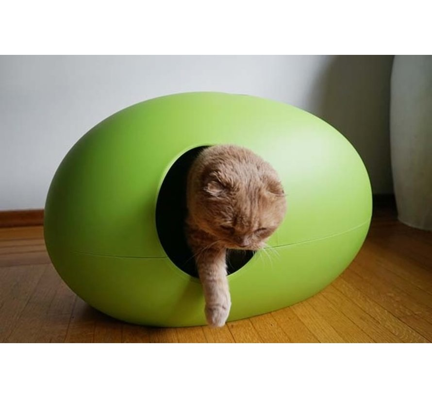 Design Kattenbak Poopoopedo Groen