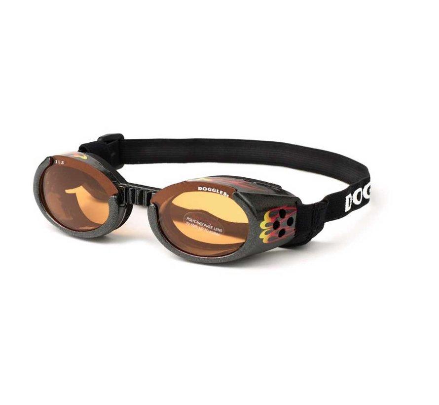 Dog Sunglasses Racing Flames