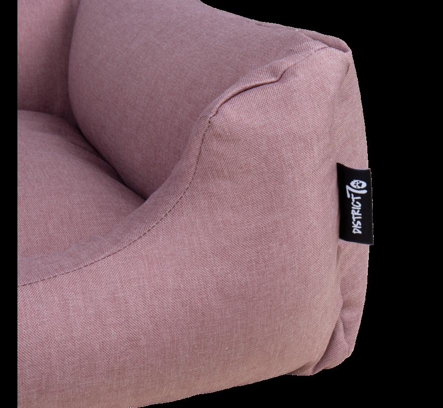 Dog Bed Box Bed  Vintage Pink