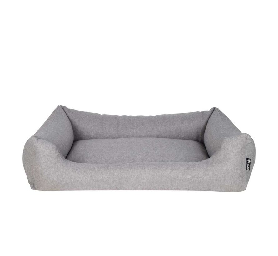 Dog Bed Box Bed  Shark Grey