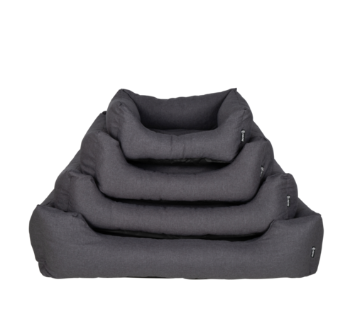 District70 Dog Bed Box Bed  Charcoal Grey