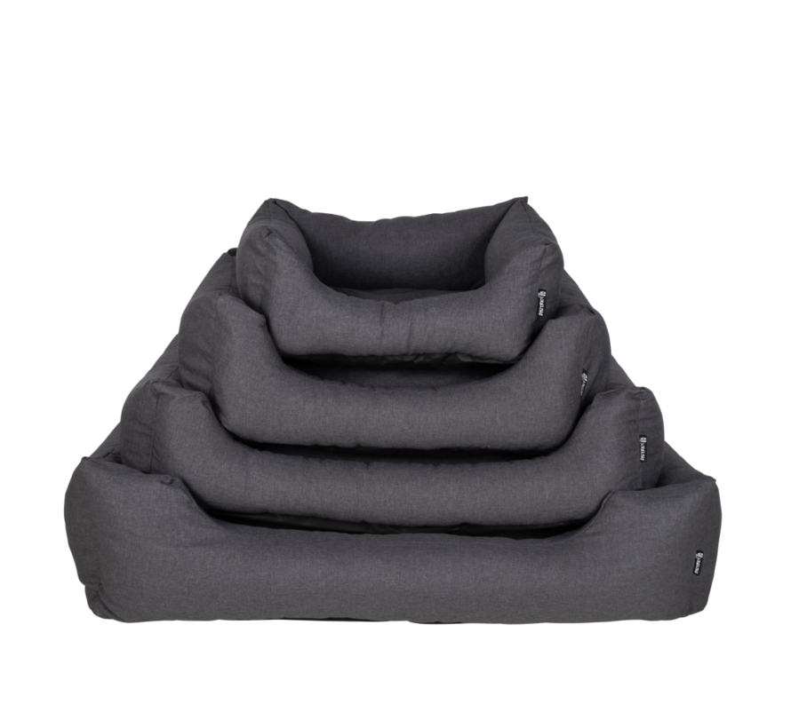 Dog Bed Box Bed  Charcoal Grey