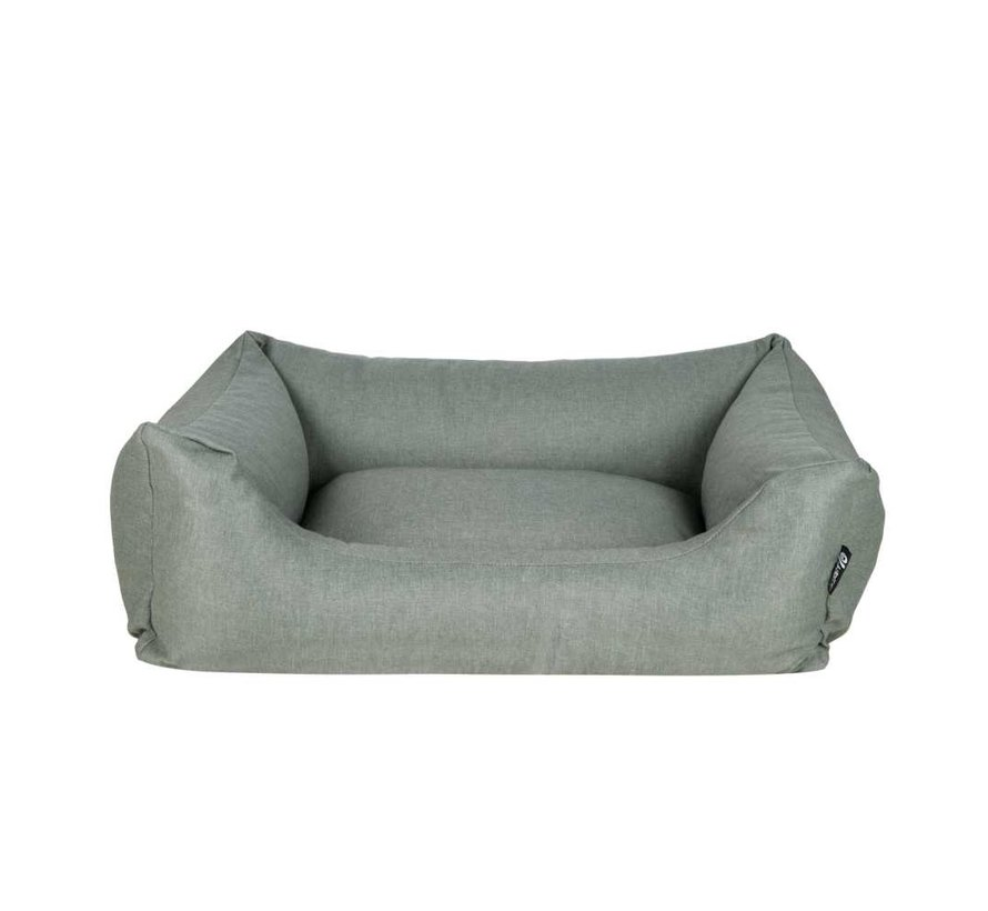 Dog Bed Box Bed  Cactus Green