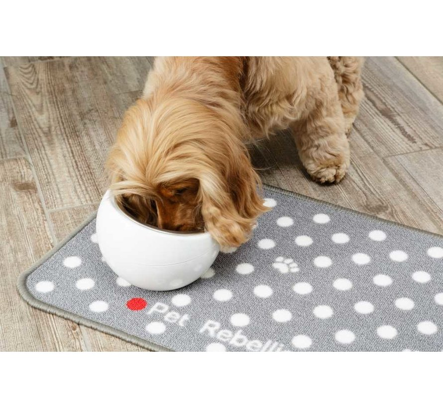 Placemat Dotty Grey