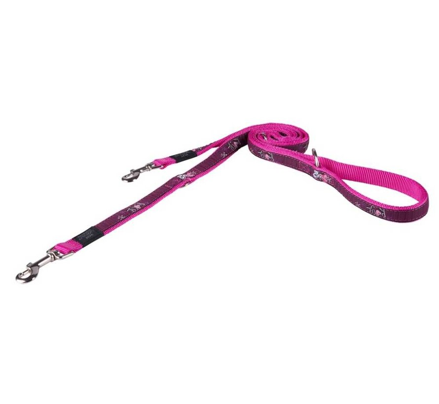 Hondenriem Multi Purpose Pink Love
