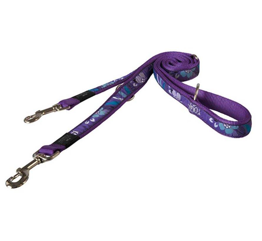 Hondenriem Multi Purpose Purple Forest