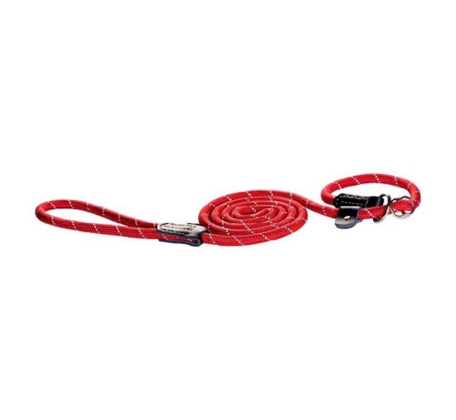 Trainingslijn Hond Rood