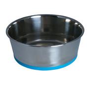 Rogz Bowl Stainless Steel Slurp Blue
