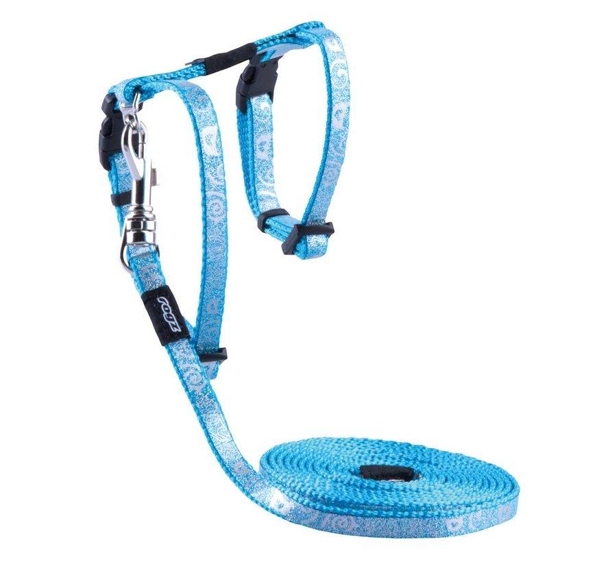 Kattentuig SparkleCat Turquoise