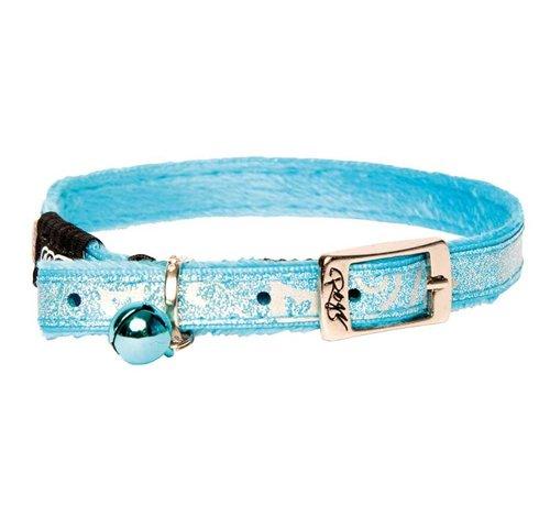 Rogz Kattenhalsband SparkleCat Turquoise