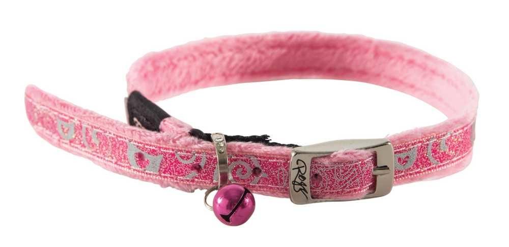 Kattenhalsband SparkleCat Roze