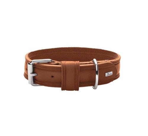 Hunter Dog Collar Aalborg Rustica Cognac