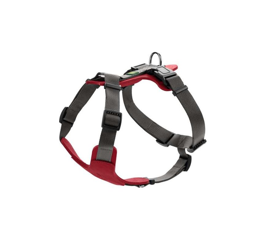 Dog Harness Aalborg Mixed Red