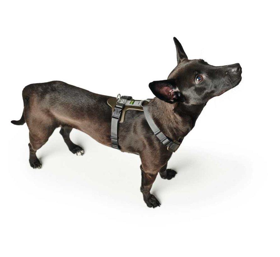 Dog Harness Aalborg Mixed Green