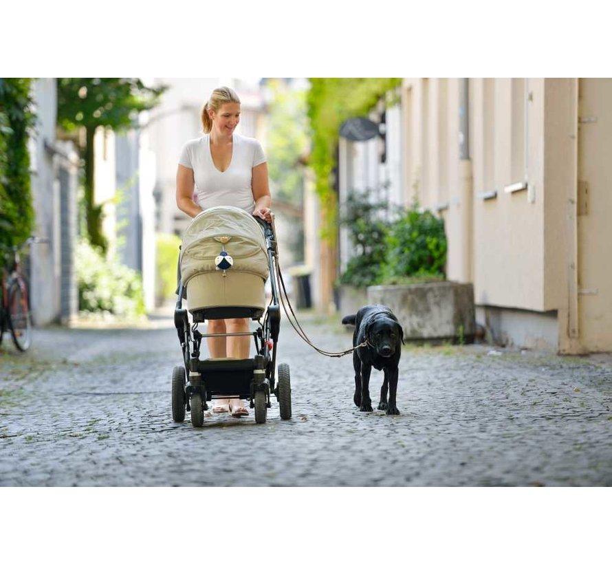 Verstelbare Hondenriem Basic Stone
