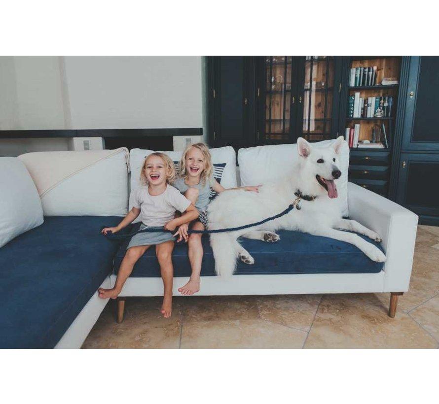 Hondenriem List Blauw