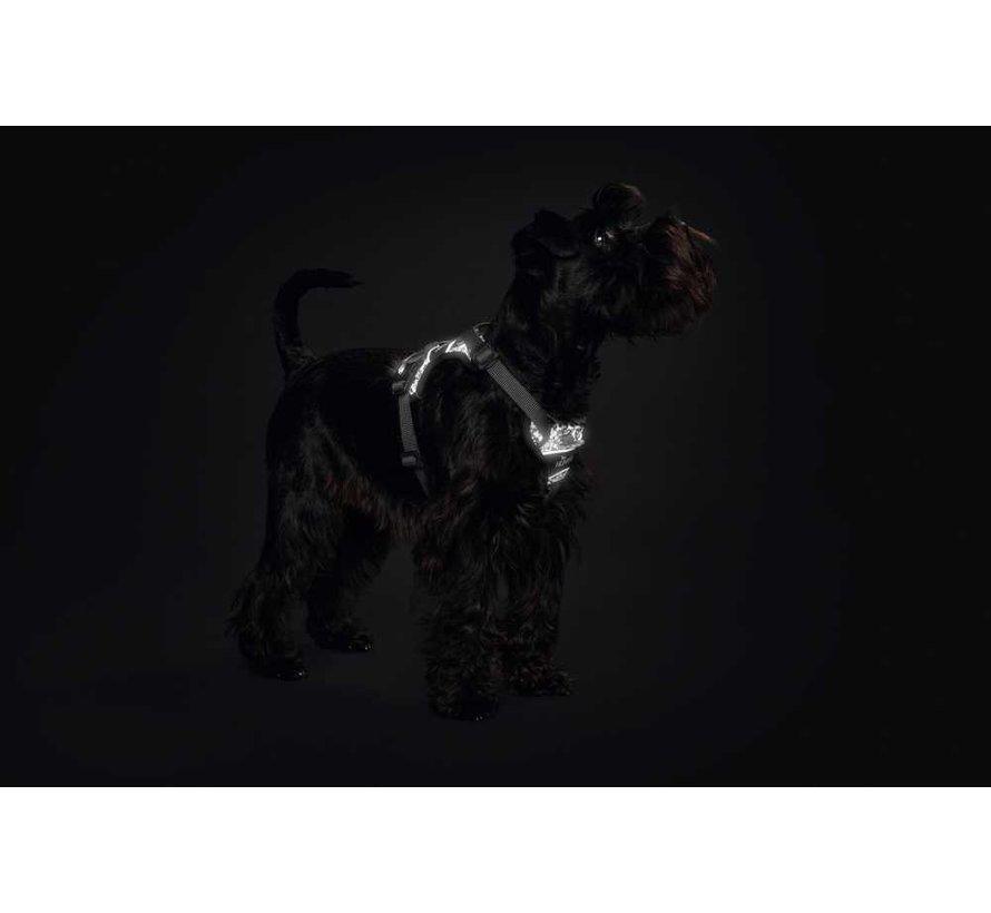Hondentuig Divo Reflect Zwart