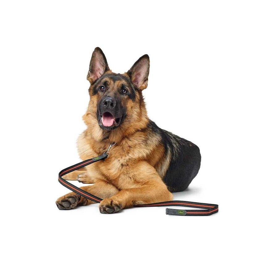 Dog Leash Visby Orange Super Grip