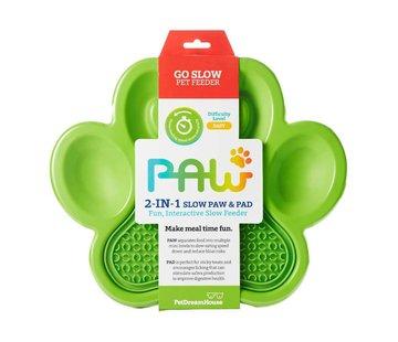 PDH Paw 2 in 1 Slow Feeder Groen