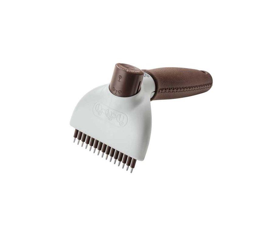 Detangle Dog Brush Spa Self Cleaning