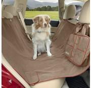 Kurgo Dog Blanket for the Back Seat Hammock Heather Nutmeg