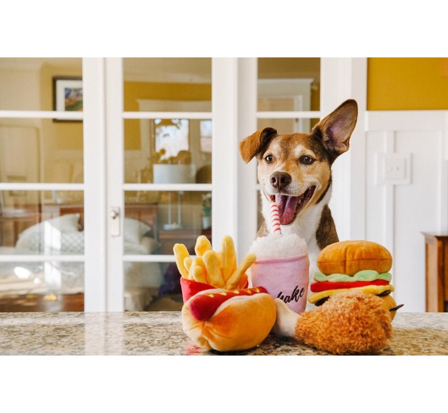 Hondenspeelgoed Hamburger