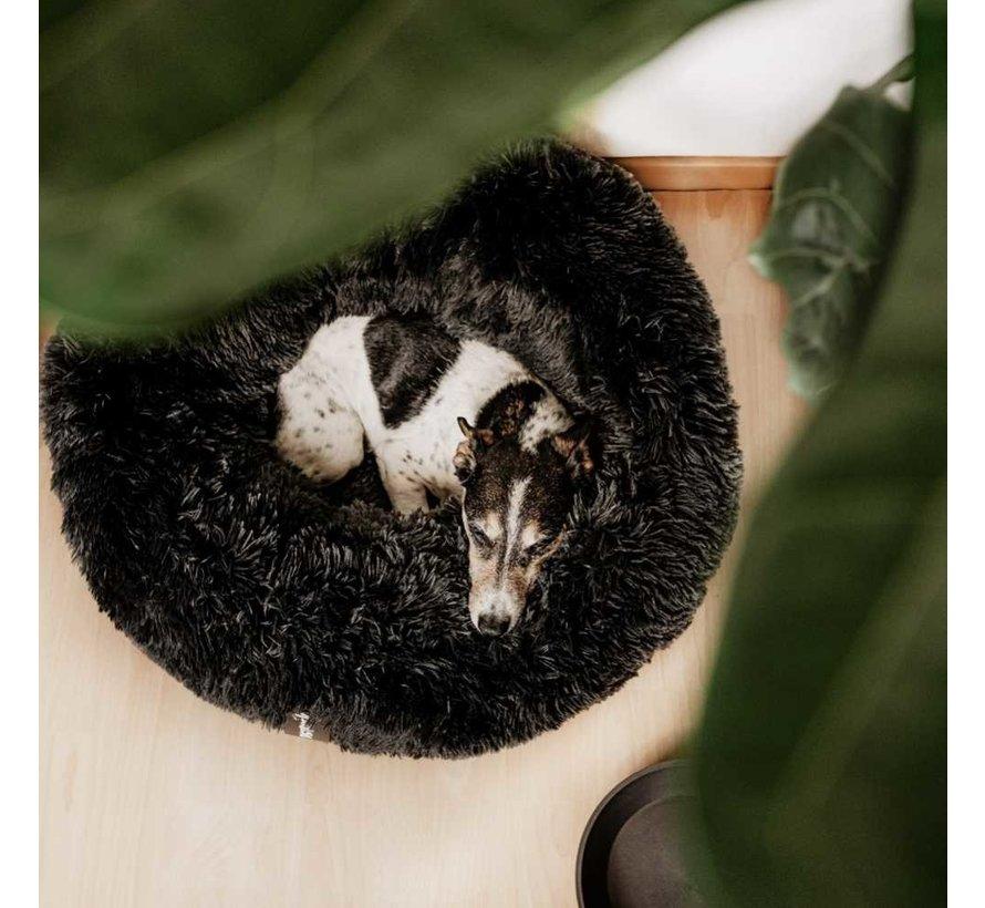 Hondenmand Donut Fuzz Donkergrijs