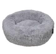 District70 Dog Bed Donut Fuzz Light Grey