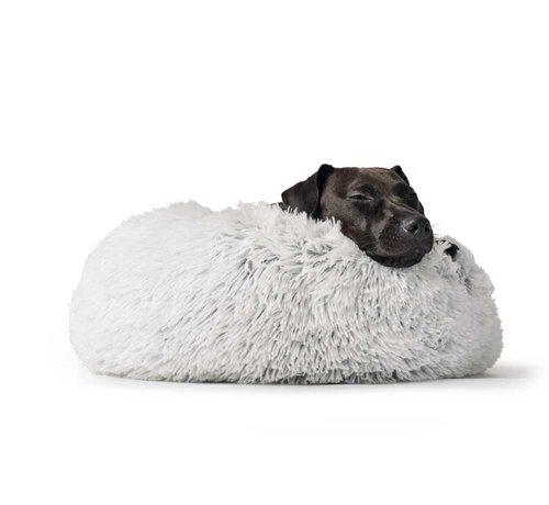 Hunter Dog Bed Donut Loppa White