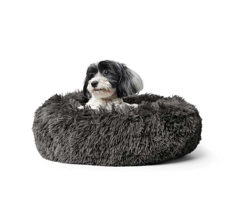 Hondenmand Donut Loppa Anthraciet