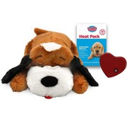 Snuggle Puppy Brown / White