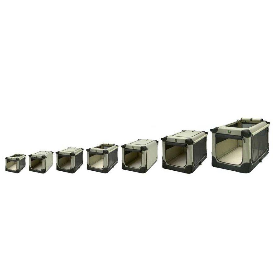 Foldable dog crate Soft Kennel Beige