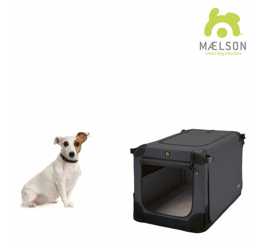 Reisbench Hond Soft Kennel Antraciet