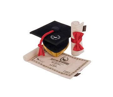 P.L.A.Y. Hondenspeelgoed Graduation Cap & Diploma Toy