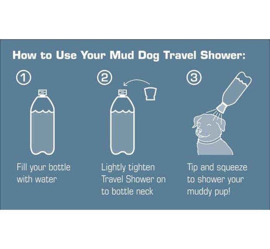 Mud Dog Travel Shower