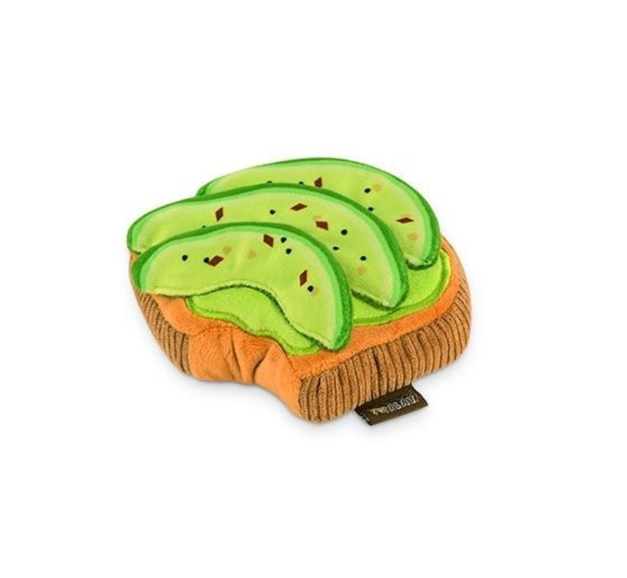 Hondenspeelgoed Avocado Toast