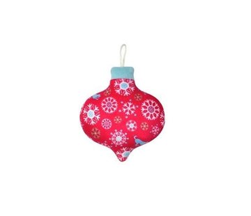 P.L.A.Y. Dog Toy Christmas Ball Snowflakes
