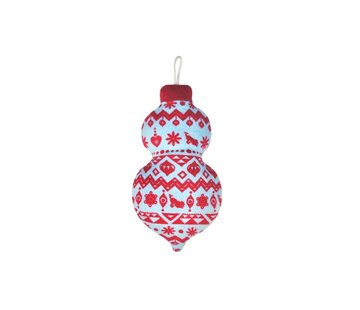 P.L.A.Y. Dog Toy Christmas Ball Candy Wrap