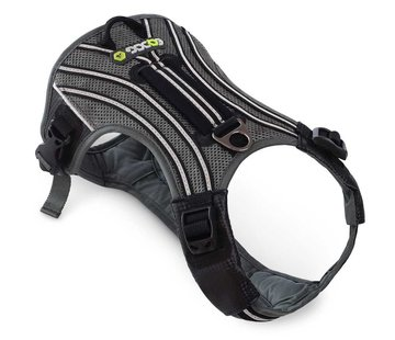 EQDOG Hondentuig Pro Harness Zwart