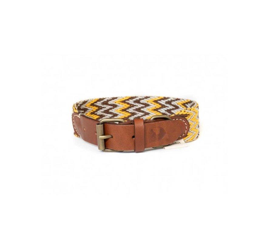 Dog Collar Peruvian Gold