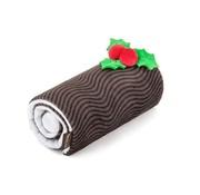 P.L.A.Y. Dog Toy Christmas Yule Log