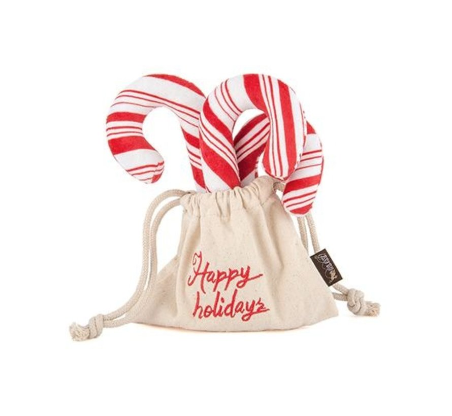Dog Toys Christmas Candy Canes