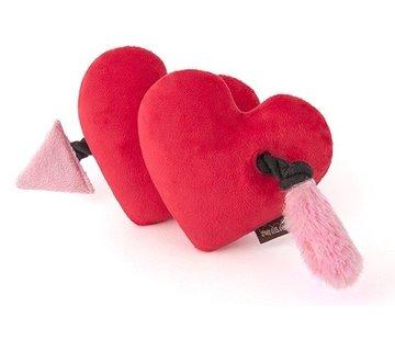 P.L.A.Y. Dog Toy Puppy Love Hearts