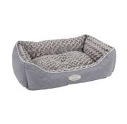 Scruffs Dog Bed Wilton Gray
