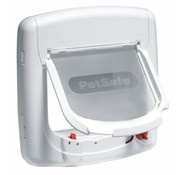 Petsafe Staywell magnetic De Luxe white cat flap