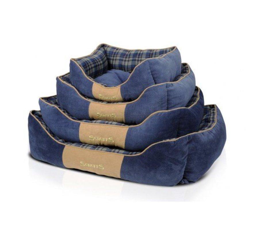 Dog Bed Highland Blue