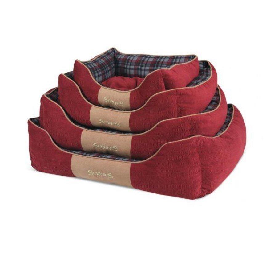 Dog Bed Highland Red