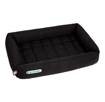Doctor Bark Orthopedic Dog Bed Black