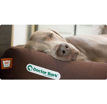 Doctor Bark Orthopedic Dog Bed Brown