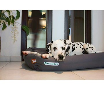 Doctor Bark Orthopedic Dog Bed Grey